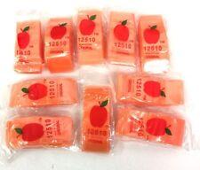 "Top Quality 12510(1.25""X1"") Orange Color 1000 Apple Brand Mini Zip Lock Baggies"