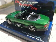 Minichamps bond collection 1/43 Jaguar XKR roadster as driven by Zao