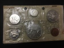 Canada 1965 Mint coins set UNC with silver  (MG162M2)