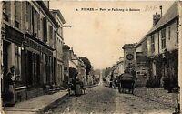 CPA Fismes-Porte et Faubourg de Soissons (491578)