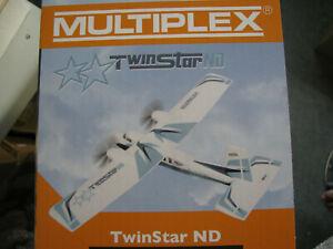 MULTIPLEX TWIN-STAR, NEUESTE VERSION, BAUKASTEN, Nr. 1-00912, WIE BILDER, NEU!!!