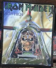 IRON MAIDEN Aces High BIG Printed BACK PATCH CD HEAVY METAL
