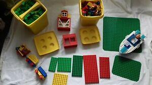 XXL Lego Dublo Konvolut Kisten, Platten, Hausteile, Menschen, Bausteine