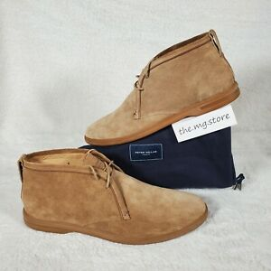 Peter Millar Collection Chukka Brown Suede Mens Boots Sz 12 MS20RF06 MSRP $298