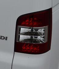 TRANSPARENT ARRIÈRE LED FEUX ARRIÈRES POUR VW VOLKSWAGEN T5 CARAVELLE HAYON
