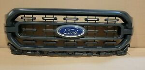 New Take Off Original XLT Sport Grille Fits 2021 2022 Ford F150 GRAY