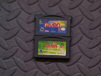 Lot Nintendo Game Boy Advance GBA Games That's So Raven, That's So Raven 2