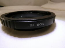 """B4 2/3"""" Canon Lens mount adapter ring to EOS EF-S SLR Cameras T6i T7i 70D 80D"""