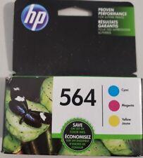 HP 564 564XL Ink Cartridges Genuine BLACK, CYAN ,MAGENTA,YELLOW, EXP.2019