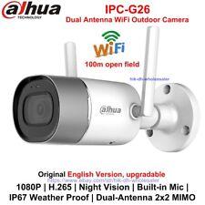 Dahua IPC-G26 2MP WiFi Dual-Antenna Bullet IP Camera 1080P IR Built-in Mic IP67