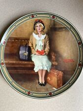 """Norman Rockwell """"A Young Girl's Dream� Plate"""