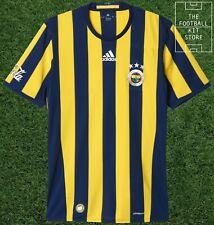 Fenerbahce Home Shirt - adidas Turkish Football Short Sleeved Jersey - All Sizes