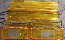New Amber w/ Alley light Lens Kit for Whelen Edge Lightbars Amber Lens