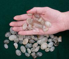 Rutilated Quartz Cabochon Gem Mix Over 50 carats