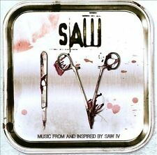 SOUNDTRACK/MOVIE-SAW IV-MUSIC FROM AN CD NEW