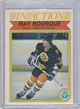 82-83 OPC O-Pee-Chee Ray Bourque In Action #24 Near Mint (Boston Bruins)