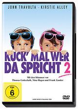 < DVD * KUCK' MAL WER DA SPRICHT - 2   JOHN TRAVOLTA , KIRSTIE ALLEY # NEU OVP