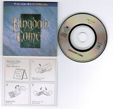 """KINGDOM COME Get It On c/w 17 JAPAN 3"""" CD P10P-30013 SNAPPED & P/S cut-out"""