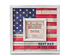 American Backroads Best Dad In The USA Picture Frame Demdaco