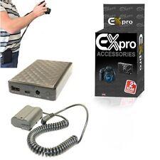 Ex-Pro sobre el movimiento 7600mAh sistema de batería reemplazar EN-EL15 EP-5B para Cámara Nikon