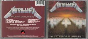 Metallica - Master of Puppets  (CD, Elektra) EARLY PRESS DISCTRONICS USA