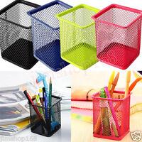 Mesh Makeup Brush Vase Brush pot Pencil Holder Stationery Storage Pen Container