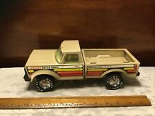 Vintage 1970/80's Pressed Steel Nylint Cattle Ranch Ford Pickup Truck
