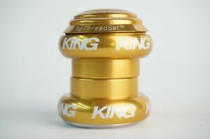 New CHRIS KING NoThread Headset 1-1/8inch Gold FY0044 Free Shipping