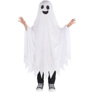 Kids Ghost Cape Costume Fancy Dress Halloween