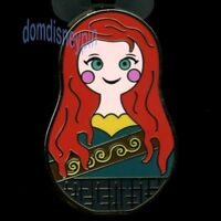 Disney Pin *Nesting Dolls* w/ Icons Mystery Series - Merida w/ Tartan Dress!