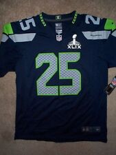 *IRREGULAR* Seattle Seahawks RICHARD SHERMAN nfl NIKE Jersey Youth (L-LARGE)