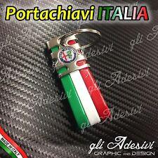 Portachiavi Tricolore Italia Auto ALFA ROMEO NW 147 159 156 BRERA Giulietta Mito