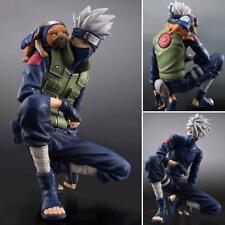 Hatake Kakashi Squating Naruto Shippuden PVC Action Figure Statue 3D Model