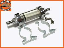 Bicromato Di Potassio & Vetro Carburante Benzina Diesel Filtro In Linea 1cm 10mm