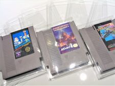 5 NES Nintendo Video Game Clear Case Cases Sleeve Box Protector Protectors CIB