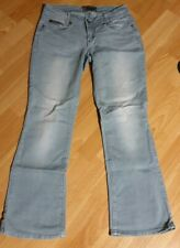 4Wards Jeans Neu Kurz-Gr.16-21 Damen Stretch Blau Used Push-Up Hose L30 32-42
