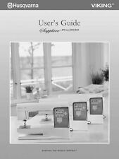 Husqvarna Viking Sapphire 835 855 875 User Owners Manual Reprint