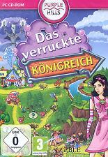 PC CD-ROM + Das verrückte Königreich + Klick Management Abenteuer + Win 7