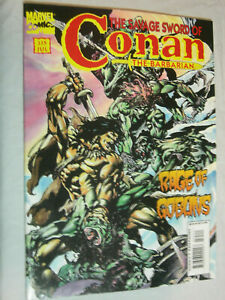 The Savage Sword of Conan #235 F/VF Scarce final issue Rage of Goblins