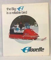 ALOUETTE 1968 Vintage Snowmobile Original 6 page Folded Dealer Brochure UNUSED