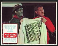 Who's Minding the Mint Lobby Card-Jim Hutton and Milton Berle.