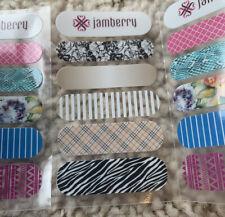 Jamberry Nail Wraps Sample Accent Sheet Spring/Summer 2015 Retired - 36 Sheets