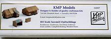 KMP Models HO/HOn3 Sawmill Outbuildings (Outbldgs.)
