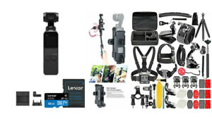 DJI Osmo Pocket Gimbal with Expansion Kit and 32GB microSDHC Card DELUXE BUNDLE