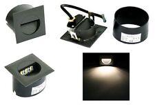 Wand Treppenleuchte für Dauerbeleuchtung Lina 230V mit LED 1,2 Watt EEK: A+