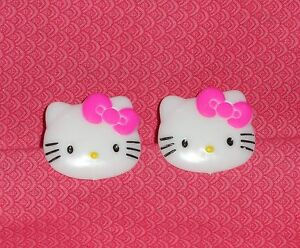 Hello Kitty Plastic Cupcake Rings,Favors,White,12 ct.Bakery Crafts