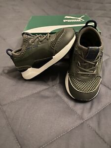 Baby Boy Puma Trainers Size Uk 4K EU 20 US 5