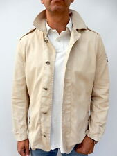 TOMMY HILFIGER THICK Cotton WEATHERED SHORT TRENCH P COAT Jacket - Medium (844)