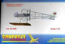 Choroszy Models 1/72 FARMAN M.F.11 SHORTHORN British WWI Floatplane