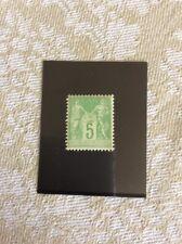 Nº 102 5 c Vert Jaune Neuf ** TTB Qualité  Centrage Correct Cote 40€+ 50% +